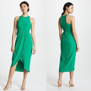 Yumi Kim So Social Emerald Green NEW Dress Medium